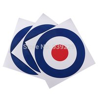 air force stickers - 3Pcs Roundel Target Royal Air Force Defense Label Sticker Car Van Scooter mm