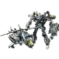 Wholesale Enlighten Transformation Robot Model Movie Robots Airplane Figure DIY Toy Assembling Beast Builing