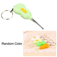 Cheap Violin Design Ear Pick Spoon Tool Ear Wax Remover Cleaner with Flashlight Keyring?Colors May Vary? Ear Care