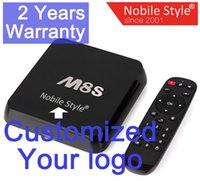 smart tv - Customized years warranty M8S M8 Google Smart Android IPTV TV boxes GB GB KODI Blackbox Amlogic S805 S812 K Bluetooth Nobile Style