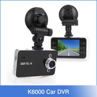 car video camera - DVR K6000 NOVATEK P Full HD LED Night Recorder Dashboard Vision Veicular Camera dashcam Carcam video Registrator Car DVR