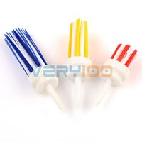 Wholesale 3pcs Plastic Assorted Combo Pack Golf Brush Driver Training Golfer Tees Aids Tool order lt no track