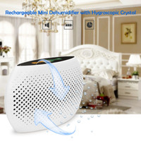 Wholesale Rechargeable Air Dryer Mini Dehumidifier Dehumidifiers Practical Desiccant Moisture Absorbing Tool for Home for Wardrobe Cabinet H16441