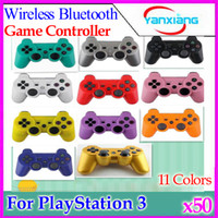 Wholesale High quality SIXAXIS Wireless Bluetooth Controller for Sony Playstation PS3 A variety of color choices ZY PS3