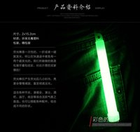 Wholesale 6 inch light sticks hook outdoor camping emergency lighting luminous stick light sticks colors