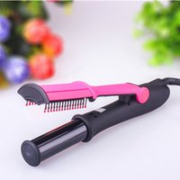 iron steam iron - Fashion hair Curl Electric Ceramic Magic Hair Curler automatic Spiral Hair Rollers Curling Iron Hair Styling Tools Steam Brush