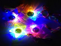 Wholesale 108pcs LED Glowing Little Star Necklace Flashing Light Kids Toys Birthday Concert Festvial Party Favors
