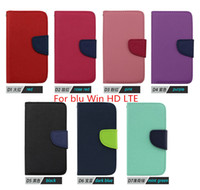 advanced life - Wallet PU Leather Mercury Flip Phone Case Cover For blu advance inch Win HD LTE life xl L050 Credit Card Slots