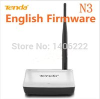 Wholesale wireless router home networking WIFI repeater Mbps b g n ports antenna Tenda N3 order lt no track
