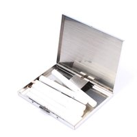 Wholesale New High Quality Stainless Steel Cigarette Case With Built In Butane Holder