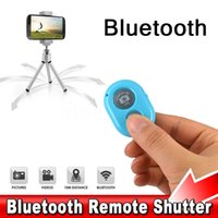 Wholesale 2015 Bluetooth Wireless Remote Shutter Camera Control Self timer Shutter for iPhone s samsung ios7 Android No Battery