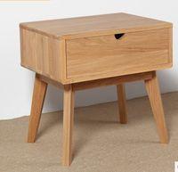 wood furniture - Japanese style furniture wood Nightstand wood furniture oak Nightstand square wood table Pastoral style Bedroom Furniture