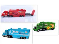 Wholesale New style Cars Mack Chick hauler Thai Pixar Car Lightning Hick Truck Toy car Kid color bk014