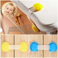 Wholesale 10pcs NEW baby Safety Drawer Locks Baby Cabinet Lock child Care Products Baby Safety Door Drawer Lock