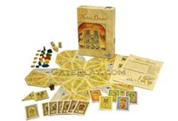 Wholesale notre dame board game english version home made card game simple pakage