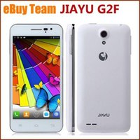 Wholesale JIAYU G2F IPS quot Android MTK6582 Quad Core G G Unlocked Smartphone Quad Band AT T WCDMA GSM GPS Capacitive Cell Phone