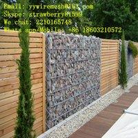 Wholesale 90 mm mm Galfan Gabion Mesh For Retaining Wall