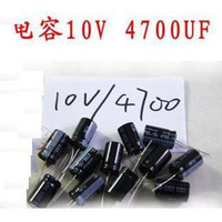 Wholesale High quality V UF mm electrolytic capacitor board capacitors pack order lt no track