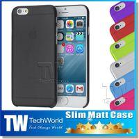 tpu gel case - Slim Matt Case for iphone iPhone plus cases Ultra Thin TPU Soft matt Transparent Gel Cover Cases For Iphone Galaxy S5 S6 Note HTC M9