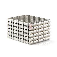 Acheter Aimant néodyme forte-Livraison gratuite 100pcs solide ronde NdFeb Cylindre 5mm x 5mm Dia N50 Rare Earth Magnet néodyme