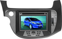 Wholesale 8 inch Special Car DVD Player For Honda new fit with GPS IPOD Bluetooth High definition screen with free map