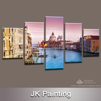 canvas prints wall painting - Giclee Print Canvas Art prints of Venice Toward evening amazing combination wall decoration paintings large canvas art cheap