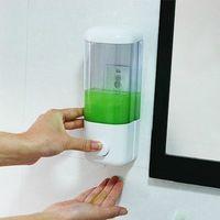 Wholesale Wall mounted Hand Liquid Soap Shampoo Dispensers for Bathroom Kitchen Hotel Bathroom Accessories Bath Body Works