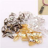 bail findings - 200pcs pendant Clasp Pendant Connector bail beads Jewelry Finding mm F722