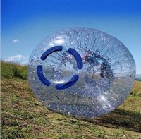Cheap Hot Sale Inflatable Water Ball   Water Walking Ball  human hamster ball ,zorb ball,Outside diameter 2.4m