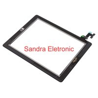 Wholesale Touch Screen Glass Panel With Digitizer Replacement For iPad iPad iPad With Home Button Adhesive Stick