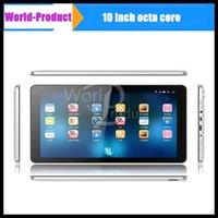 Wholesale 10Inch Tablets Pc Allwinner Octa Core A83T Cortex A7 Ghz Android kitkat System capacitive screen touch bluetooth wifi HDMI