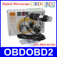Wholesale High Quality USB Digital Microscope X X Endoscope Magnifier Camera MP With LEDs Years Warranty