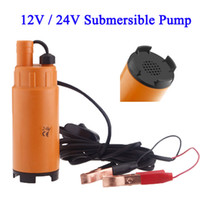 Wholesale 12V V DC MINI Diesel Fuel Water Oil Diesel Fuel Transfer Pump Submersible Transfer Pump On Off Switch Car Van Plastic order lt no track