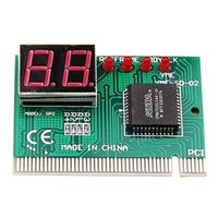 Wholesale Digit PC PCI Diagnostic Card Motherboard Analyzer Tester Post for Desktop Brand New Via DHL
