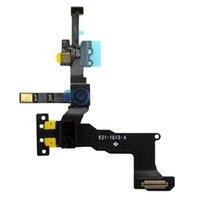 camera slider - 100 original high quality proximity sensor with front camera flex cable for iPhone S