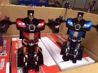 Wholesale newest RC cars listed person one key distortion effect realistic Bugatti Optimus Prime Bumblebee shipping
