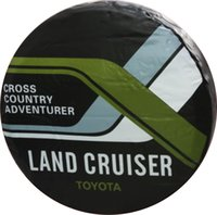 Wholesale factroy sale High Quiality PVC Material Tire Cover Spare Tire Covercar with size