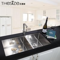 Wholesale supply Foshan music Seth integrated stainless steel sink stainless steel sink cabinet