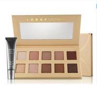Wholesale 2016 New Arrival Makeup Lorac Pro Unzipped Colors Matte Eyeshadow Palette with Eye Primer