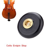 Wholesale Professional Cello Stopper Holder Cello Endpin Stop Anchor Protector Non slip with Metal Eye