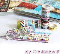 Wholesale Cute cartoon tape color decoration printing tape