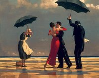 One Panel art reproduction paintings - Jack Vettriano Paintings for sale The Singing Butler Canvas Art Reproduction High Quality Handmade