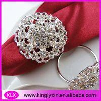 Wholesale cheaper round napkin rings wedding decoration