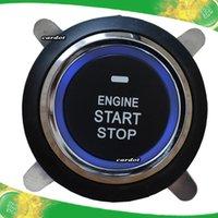 push start button car - single car engine start button top quality slim design universal model working with keyless entry push start system