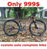 Wholesale Only COSTELO SOLO mountain mtb bicycle bike inch double disc bicicleta bicicletta complete bike suspension bicycle