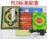 Wholesale GB M10 quran pen DHL quran reader coran read islamic gift muslim prayer koran read digital holy quran islam book muslim toys