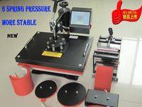 Wholesale NEW NEW BOYI Hot factory in1 combo mug cup press machine tshirt diy machine printer cap digital hot press machine transfer