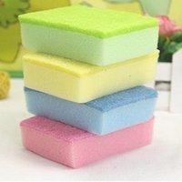 Wholesale 2015Magic Sponge Cleaner Eraser Melamine Cleaner Multi functional Sponge for Cleaning x70x30mm multi color Freeshipping