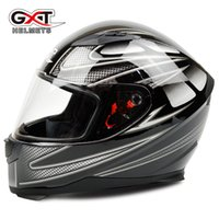 abs collar - new arrival GXT Motorcycle Helmet Cascos capacete Full Face Racing Stripes with warm neck Collar Winter moto helmets M L XL