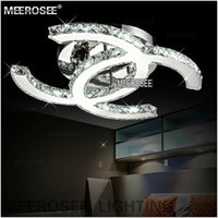 Wholesale New Design LED Crystal Chandelier Light Fixture Modern LED Crystal Ceiling Light for Ceiling MD2185